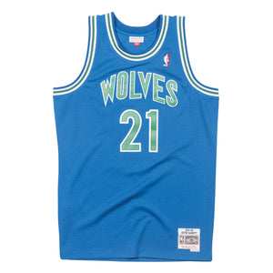 Minnesota Timberwolves Kevin Garnett Mitchell and Ness Jersey