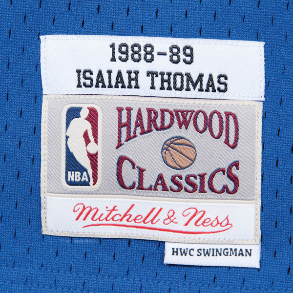Detroit Pistons Isaiah Thomas Mitchell and Ness Jersey