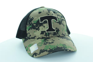 Tennessee Volunteers Trucker Stlye Hat with Digi-Camo design
