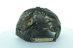 Michigan Wolverines Trucker Stlye Hat with Camo design