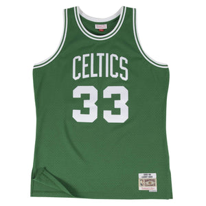 Boston Celtics Larry Bird Mitchell and Ness Jersey