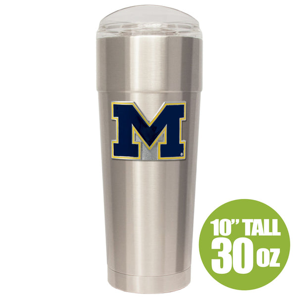 Michigan Wolverines 30oz. Stainless Party Cup Mug