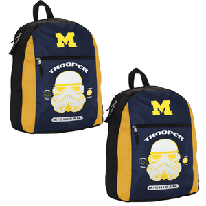 Michigan Wolverines Star Wars Combo Canvas Backpack