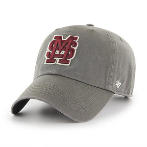 Mississippi State Bulldogs Charcoal Clean-up Hat