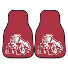 Mississippi State Bulldogs 2-Pc Carpet Car Mat Set