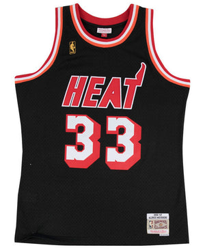 Miami Heat Alonzo Mourning Mitchell and Ness Jersey