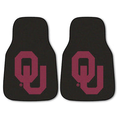 Oklahoma Sooners 2-Pc Carpet Car Mat Set