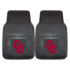 Oklahoma Sooners 2-Pc Vinyl Car Mat Set