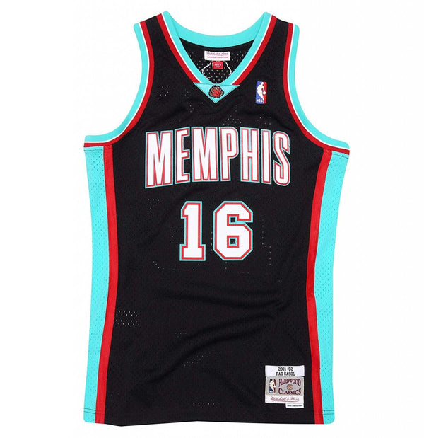 Memphis Grizzlies Pau Gasol Mitchell and Ness Jersey