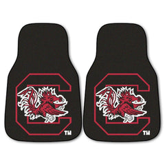 South Carolina Gamecocks 2-Pc Carpet Car Mat Set