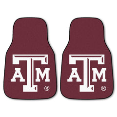 Texas A&M Aggies 2-Pc Carpet Car Mat Set