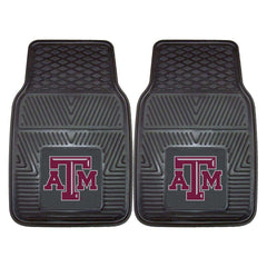 Texas A&M Aggies 2-Pc Vinyl Car Mat Set