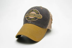 West Virginia Mountaineers Adjustable Trucker Style With Logo on Side