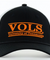 Tennessee Volunteers Black Bar Hat with Mesh Trucker Style