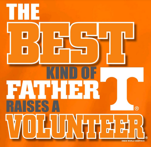 Tennessee Volunteers Best Dad Father's Day Tshirt