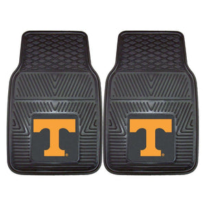 Tennessee Volunteers 2-Pc Vinyl Car Mat Set