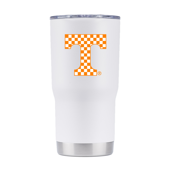 Tennessee Volunteers 20oz Tumbler White