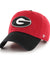 Georgia Bulldogs 2 Tone Red Clean-up Hat
