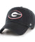 Georgia Bulldogs Black Clean-up Hat