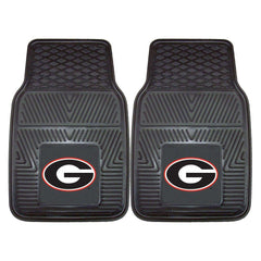 Georgia Bulldogs 2-Pc Vinyl Car Mat Set