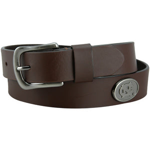 North Carolina Tar Heels Brown Casual Belt