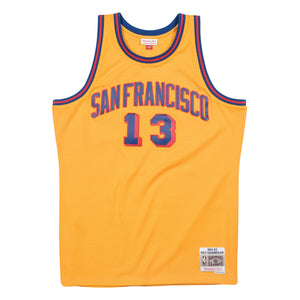 San Francisco Wilt Chamberlain Mitchell and Ness Jersey