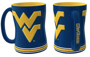 West Virginia Mountaineers 14 oz. Coffee Mug