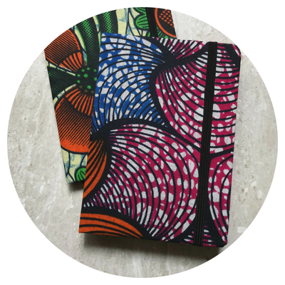 African Print Notebooks