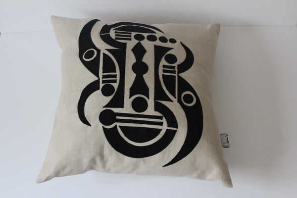 African Design Cushion Cover by Designer Tula
