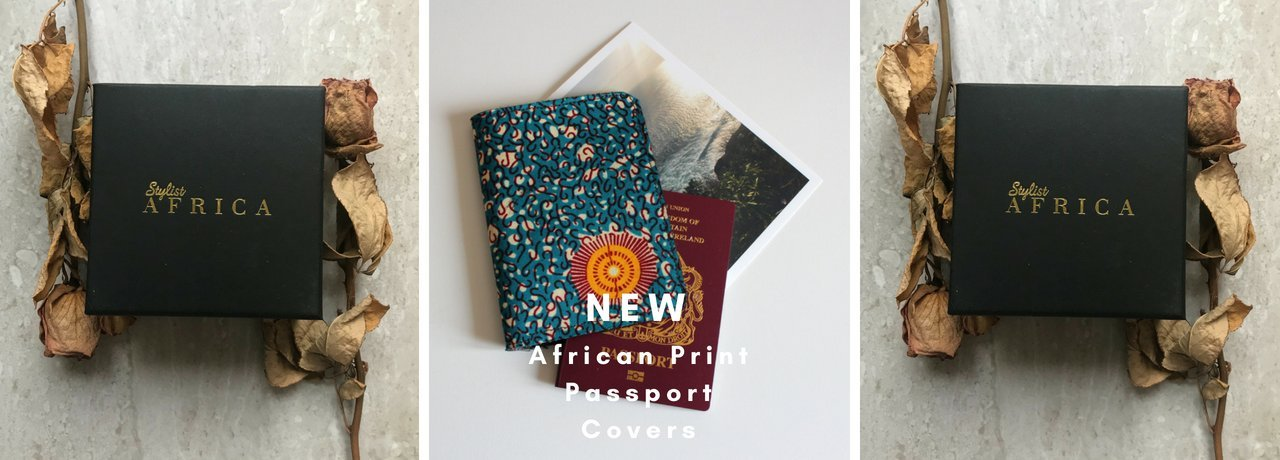 Stylist Africa African Print Passport Covers