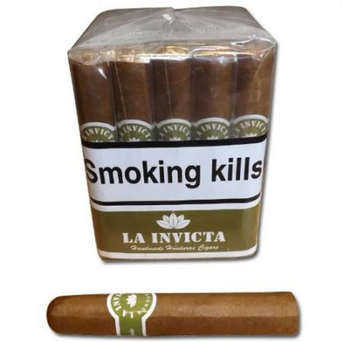 La Invicta - No 102 (Tres Petit Corona) - Box of 25 - Tobacco UK - 1