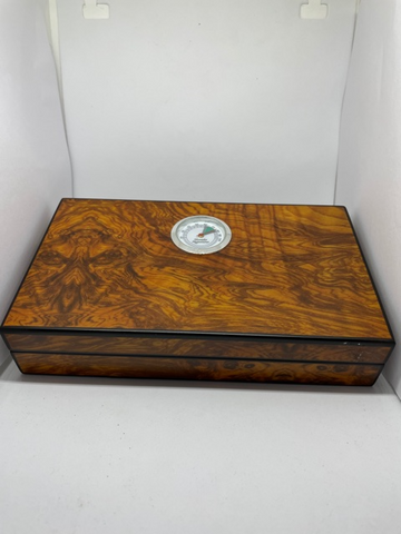 Walnut Burl Effect Travel Size Humidor