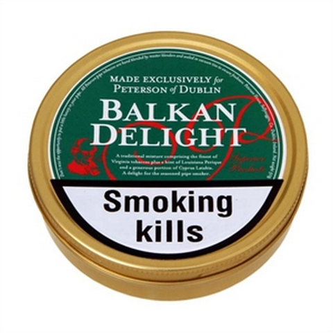 Peterson - Balkan Delight  - 50g Tin - Tobacco UK