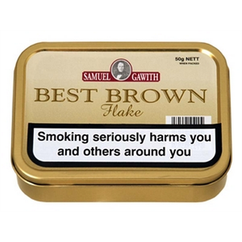 Samuel Gawith - Best Brown Flake - 50g Tin - Tobacco UK