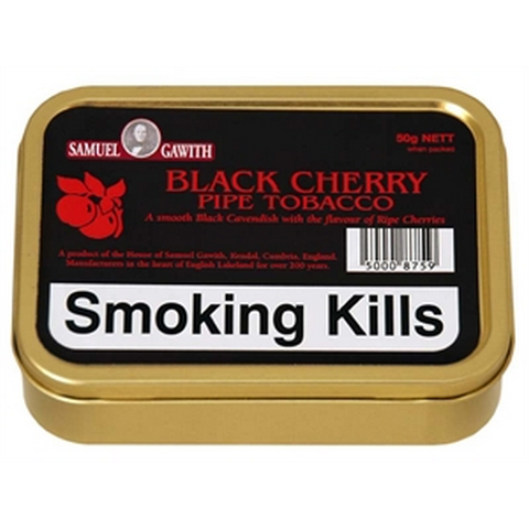 Samuel Gawith - Black Cherry - 50g Tin - Tobacco UK