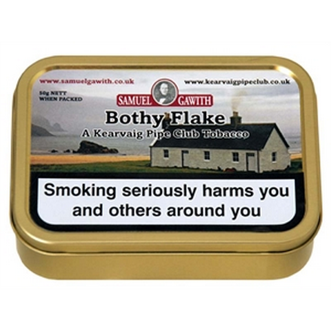 Samuel Gawith - Bothy Flake - 50g Tin - Tobacco UK