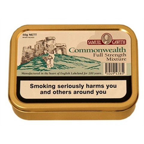 Samuel Gawith - Commonwealth Mixture - 50g Tin - Tobacco UK