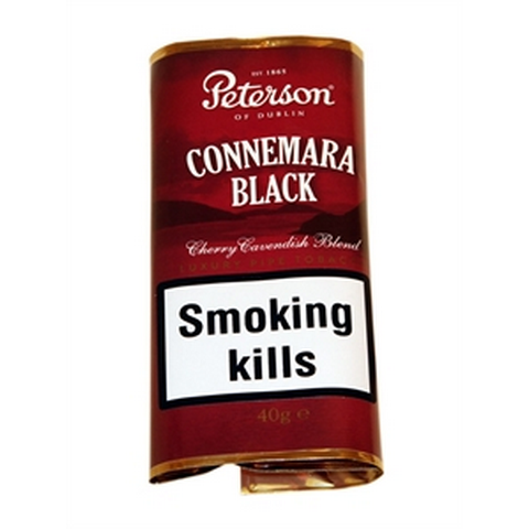 Peterson - Connemara Black - 40g Pouch - Tobacco UK