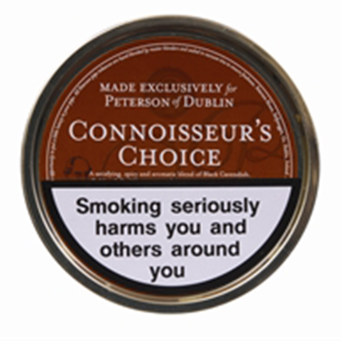 Peterson - Connoisseur's Choice  - 50g Tin - Tobacco UK