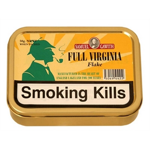 Samuel Gawith - Full Virginia Flake - 50g Tin - Tobacco UK