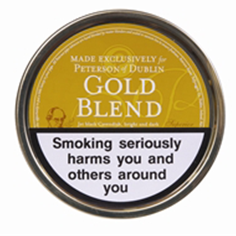 Peterson - Gold Blend - 50g Tin - Tobacco UK