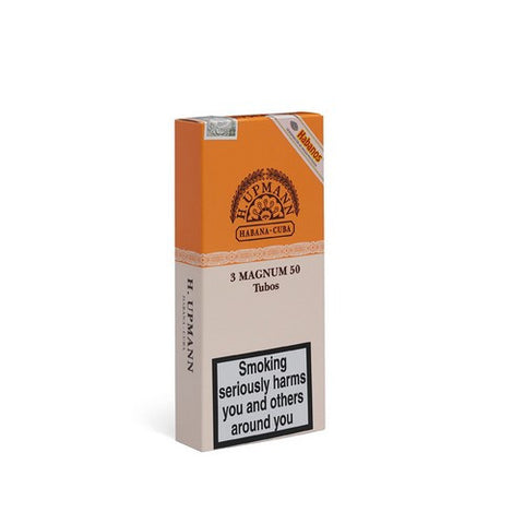H Upmann - Magnum 50 - Pack of 3 Tubed - Tobacco UK - 1
