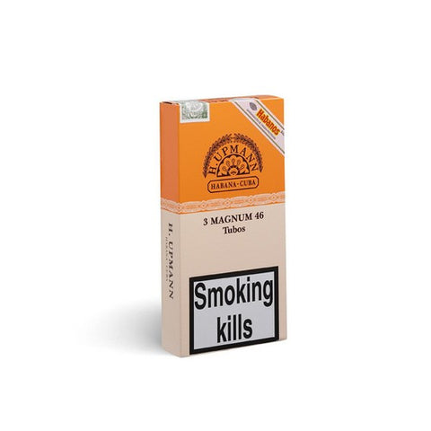 H Upmann - Magnum 46 - Pack of 3 Tubed - Tobacco UK - 1
