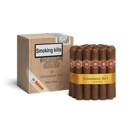 H Upmann - Connoisseur No 1 - Box of 25 - Tobacco UK - 1