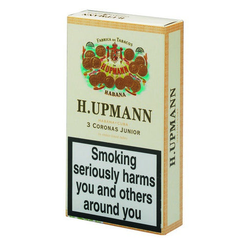 H Upmann - Corona Junior - Pack of 3 Tubed - Tobacco UK - 1
