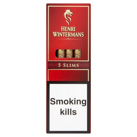 Henri Wintermans - Slims - Box of 5 - Tobacco UK
