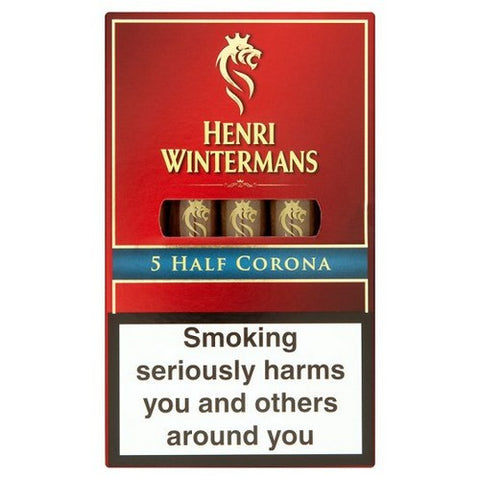 Henri Wintermans - Half Corona - Box of 5 - Tobacco UK