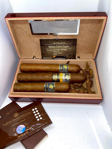Cohiba BHK 52 BHK 54 and Cohiba Talisman- Gift boxed in Travel humidor