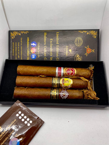 Selection of Limited Edition Cigars 3- Gift Boxed- EMS Stock