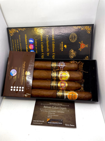 Selection of Limited Edition Cigars 2- Gift Boxed- EMS Stock